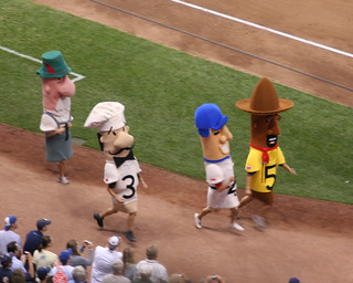 Sausage Race (A Milwaukee Tradition) | by SSShupe
