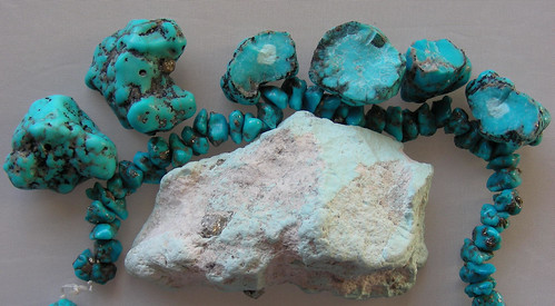 Natural and Stabalized Sonoran Turquoise