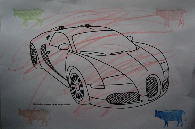 Bugatti Veyron Coloring Page Soon Available At Www Letmeco Flickr