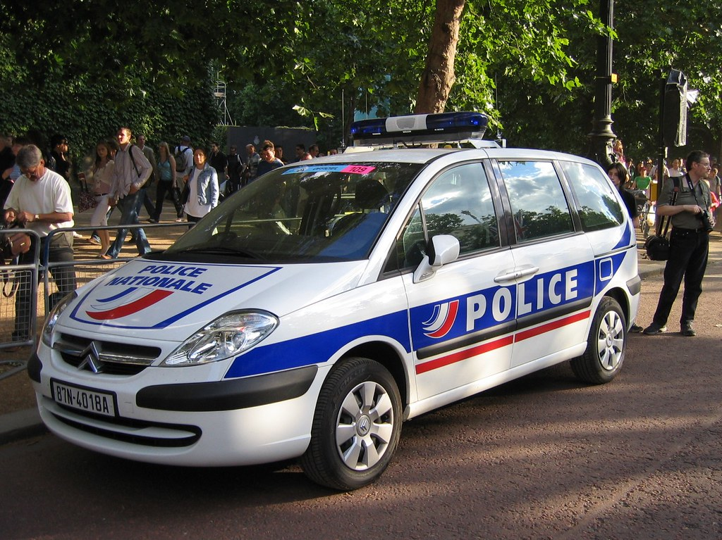 French Police Car In London For The Tour De France Robert Flickr