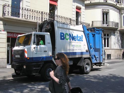 IPV de recollida de deixalles de l'Ajuntament de Barcelona