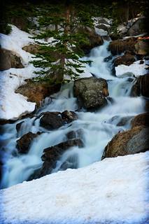 37 Dream Lake Waterfall1 | by jbarnesflickr