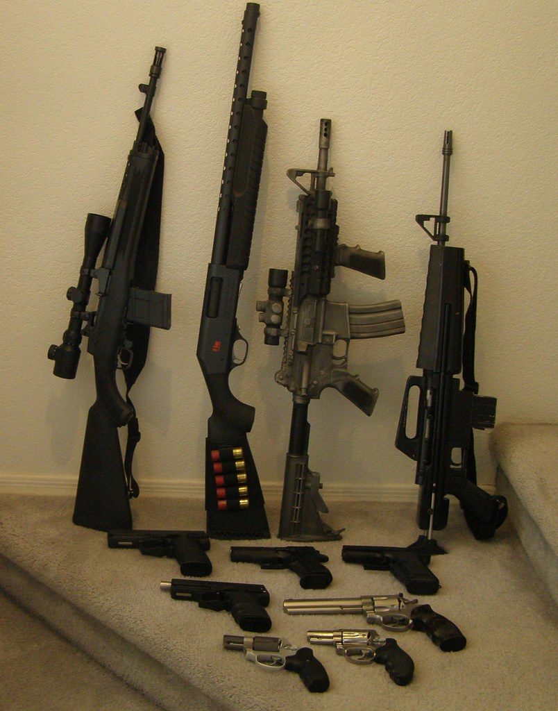 A few of my guns | One for every room in the house