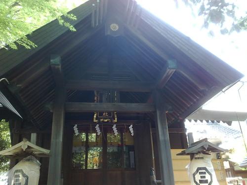 三島神社(下谷)   御朱印