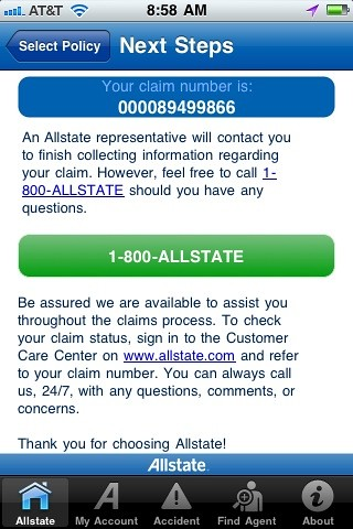 Allstate Mobile -Submit a Claim | Begin submitting your clai… | Flickr