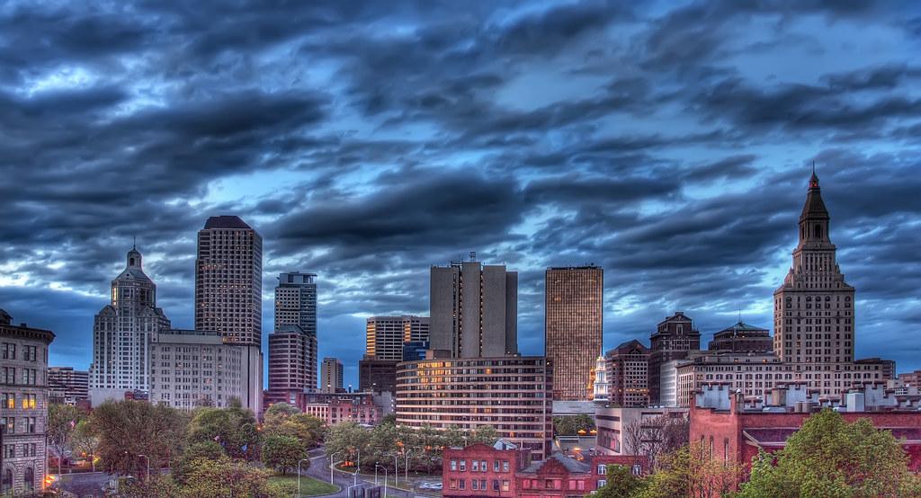 Hartford Skyline | I know, big surprise. Another Hartford sk… | Flickr