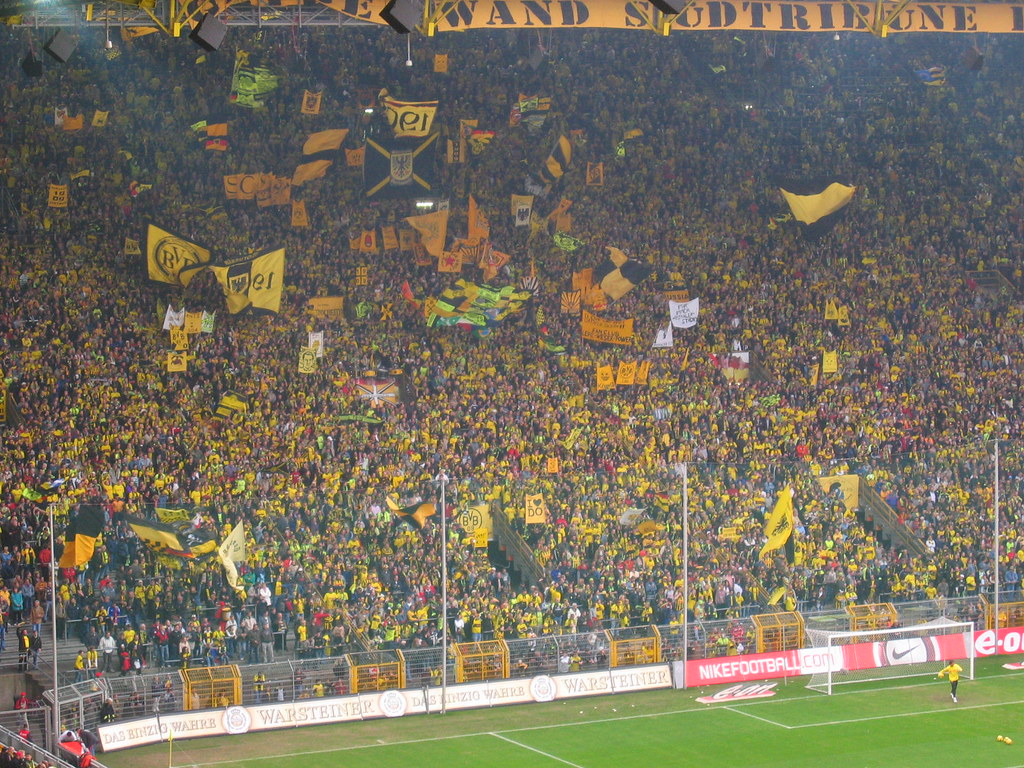 The Yellow Wall Borussia Dortmund Germany Peter Mulder Flickr