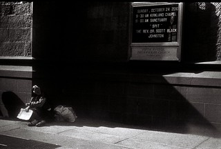 Between Shadow & Light...God and the Homeless | by helenhill_HH