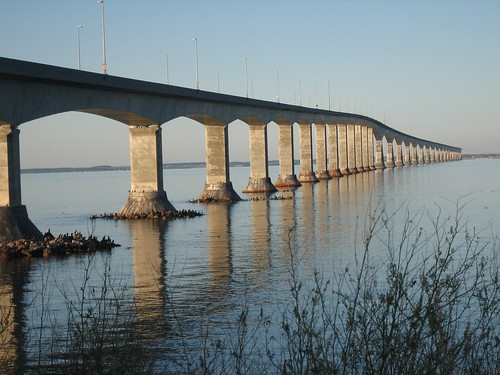 Confederation Bridge to Prince Edward Island | by jessamyn