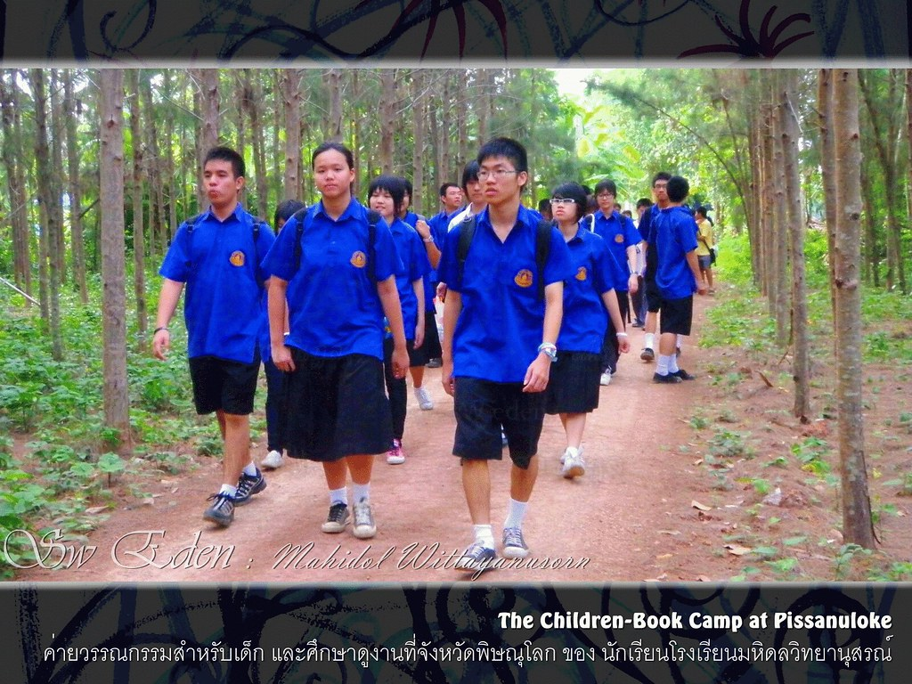 Thailand Education Teachers Students School University Classroom Studying Learning Activities wood wild camping walk