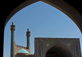 Minarets, Mesquita del Xa, Isfahan | by Sebastià Giralt