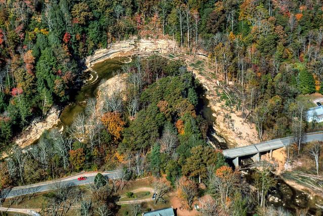 Meander, Blackburn Fork Creek, Cummins Mill Rd, Jackson Co, TN