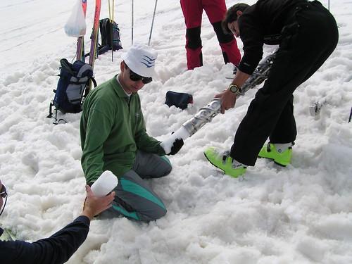 Mesures glaciologiques