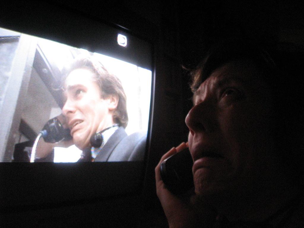 American Psycho tv duets phone booth | Megan Mayer | Flickr