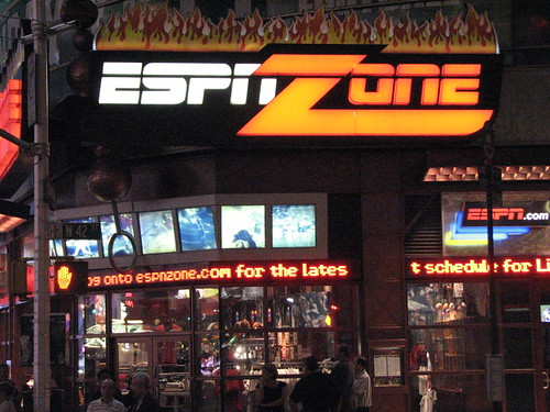 ESPN Zone | by Kevin Coles