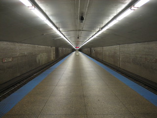 Logan Square stop, Chicago (longest train platform ever) | by kumar303