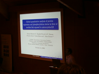 First LaTeX Beamer presentation seen in a proteomic conference | by jepoirrier