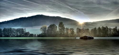 HDR: Sunrise by Dirk Paessler
