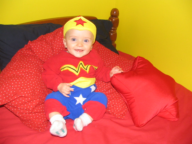 Wonder Baby - We bought this costume way back when I was pre… - Flickr