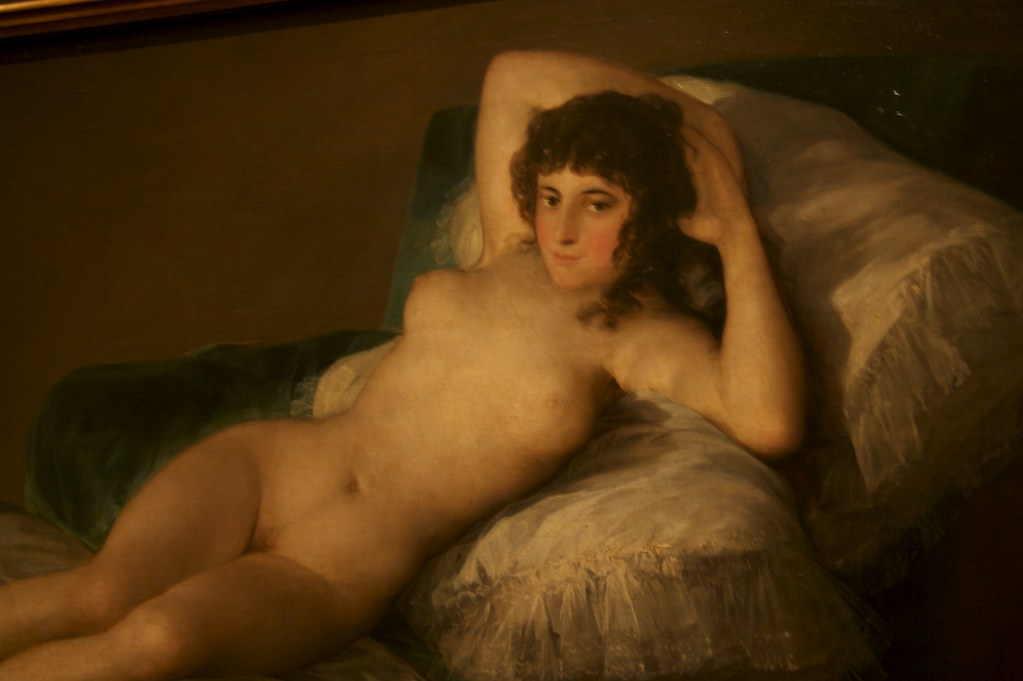 Francisco De Goyas La Maja Desnuda Jeff Few Flickr