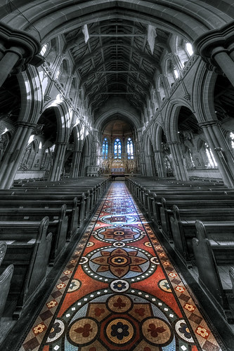 church saint j interior mary s opus crowther abigfave buryparishchurch fotofacade sectile