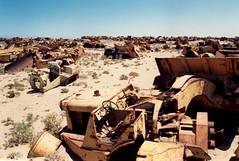 An extraordinary graveyard, Namibia   by sosij