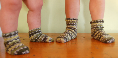 socks for babes | by SouleMama