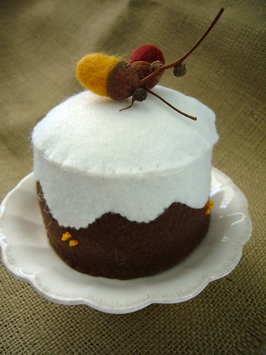 Felt cake #6 | by Leslie R Adams