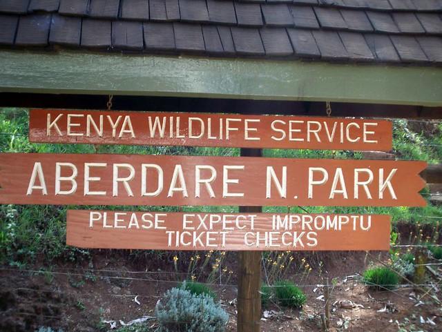 Aberdare Park entrance