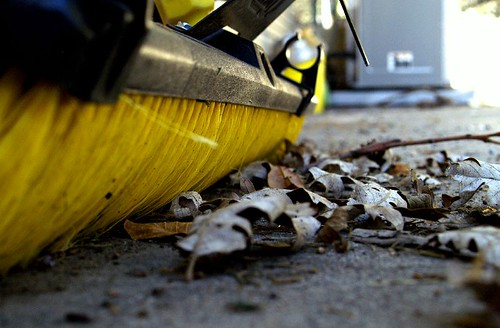 fall clean up | by chris runoff
