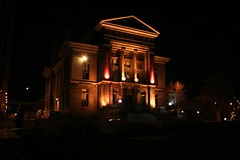 Redpath museum by night