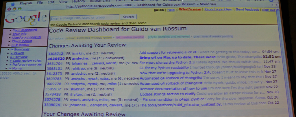 Mondrian code review
