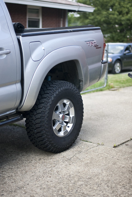 Tacoma with TRD Wheels