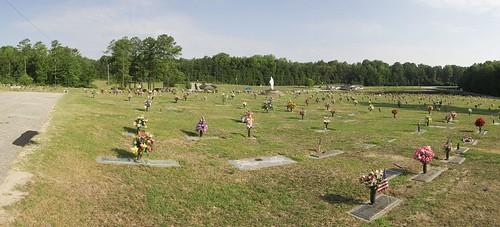 history cemetery georgia panoramic douglascounty losinggeorgia sunrisememorialgardens