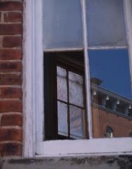 broken window at the ridges