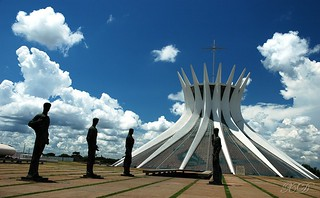 The symbol of Brasília | by Xavier Donat