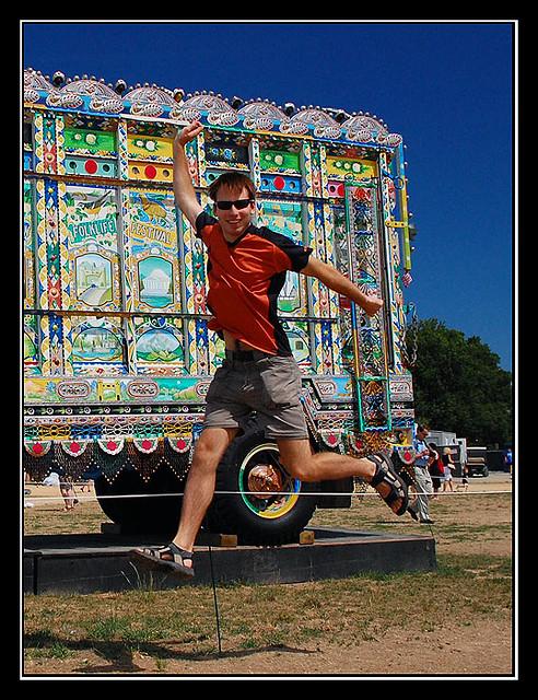 Jump of Joy in Washington DC