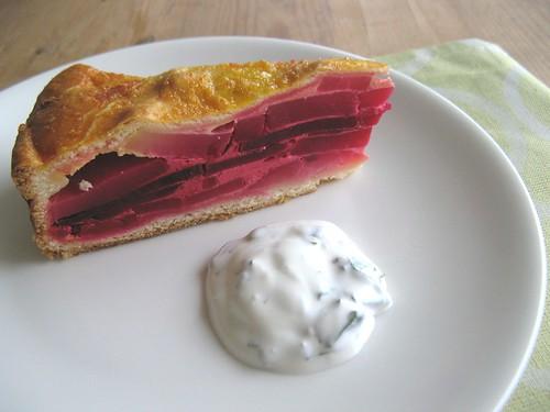 Beetroot & Potato Pie