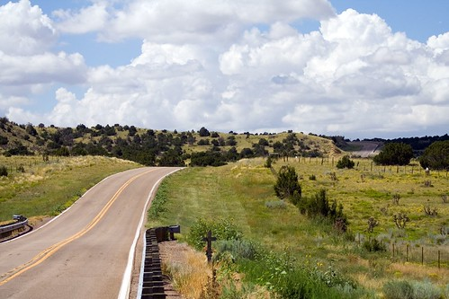 road newmexico clouds cross sunflowers summertime sundaydrive nm41