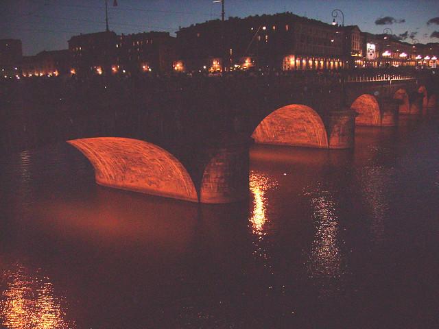 il ponte di piazza Vittorio