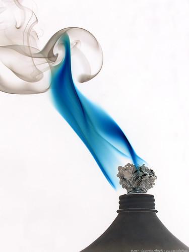 blue flame | by atomicshark