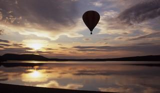 Floating into Sunset