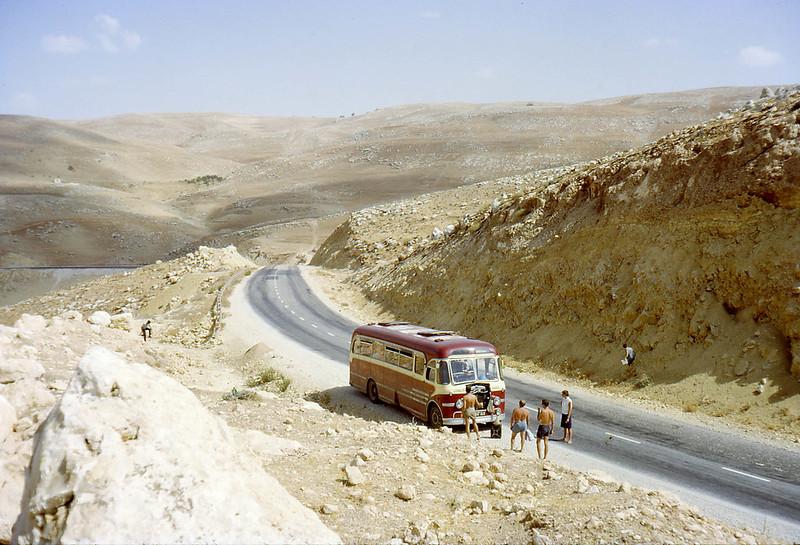 Near Jerash, Jordan, 1966