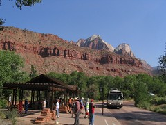Zion Canyon Visitor Center, Zion Canyon, Zion National Park, Utah