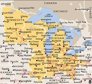Midwest Usa Map Midwest Usa Map Larry A Flickr