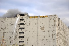 Central Warehouse Fire by keep albany boring