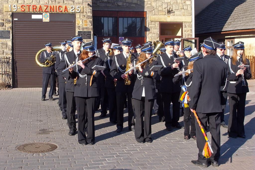 Orkiestra strażacka / Firemen brass band