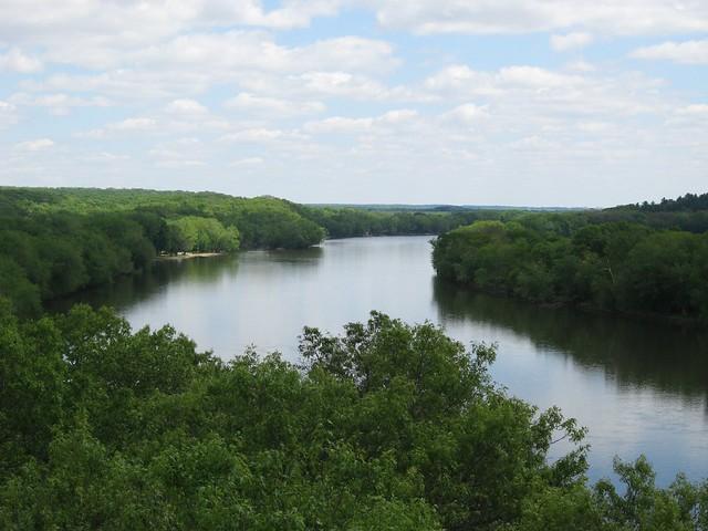 Rock River at Castle Rock State Park