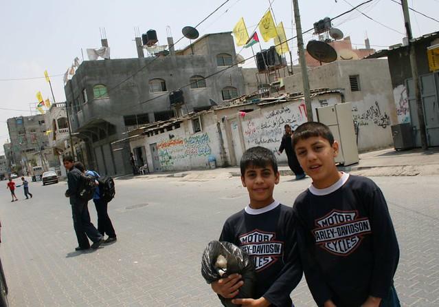 Refugee children in the Jabalia refugee camp in Gaza   Flickr