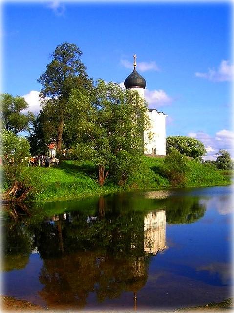 Bogolubovo - Church on Water